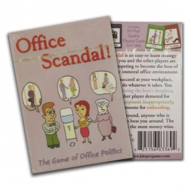 Office Scandal Card Game