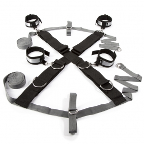 Fifty Shades of Grey Keep Still Over the Bed Cross Restraint Silver