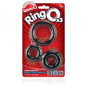 Screaming O RingO's x3 (Black)