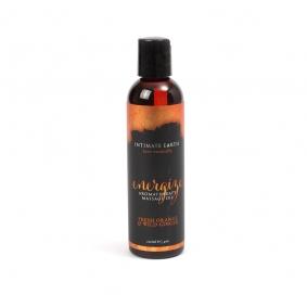Intimate Earth Massage Oil Energizing - Fresh Orange & Ginger 120ml