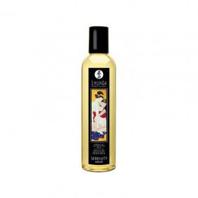 Shunga Massage Oil Serenity (Monoi)