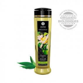 Shunga Massage Oil Organica (Green Tea)